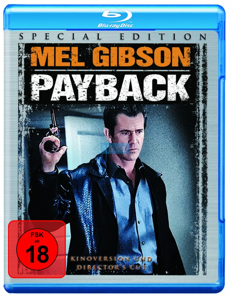 payback kinoversion director 39 s cut blu ray filme. Black Bedroom Furniture Sets. Home Design Ideas