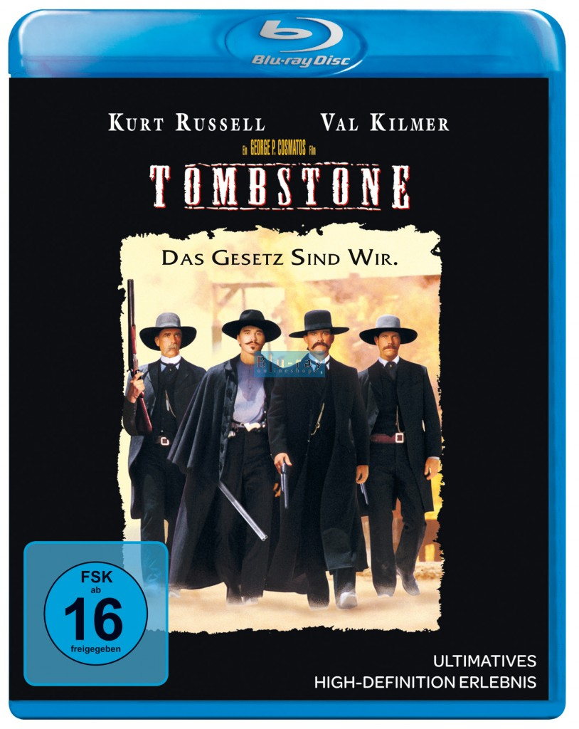 Tombstone Blu Ray