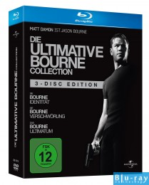 Die ultimative Bourne Collection - 3 Dis