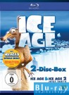 Ice Age & Ice Age 2 – Jetzt taut's Doppelbox mit Ice Age 3 Spiele Disc